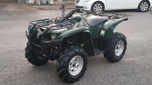 quad yamaha grizzly 2011